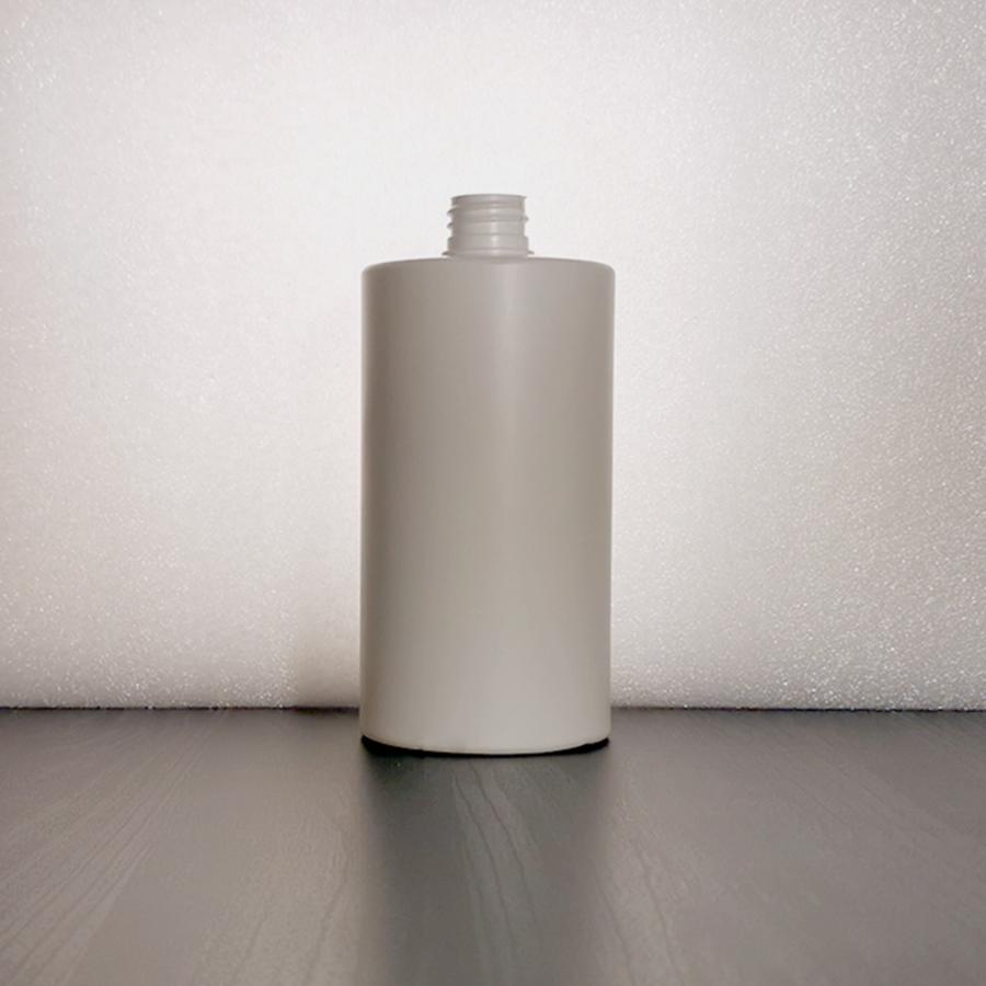 Suora-olkainen HDPE 750ml DIN 28/410 muovipullo