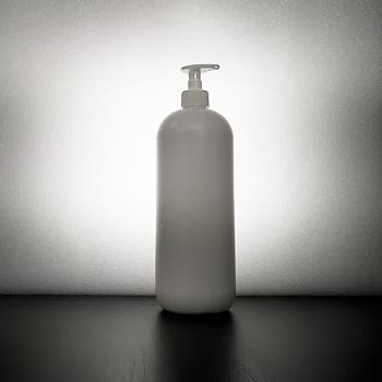 Muovipullo 1000ml (litra) saippua-pumpulla tukku-hinta varastotuote