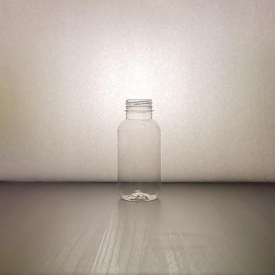 """""""Smoothie Glassy"""" PET 300ml, BRC 38 mm läpikuultava muovipullo elintarvike"""