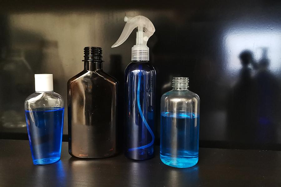 Tukku PE ja PET muovipullo suihkepullo suihkepumppu suihkekorkki