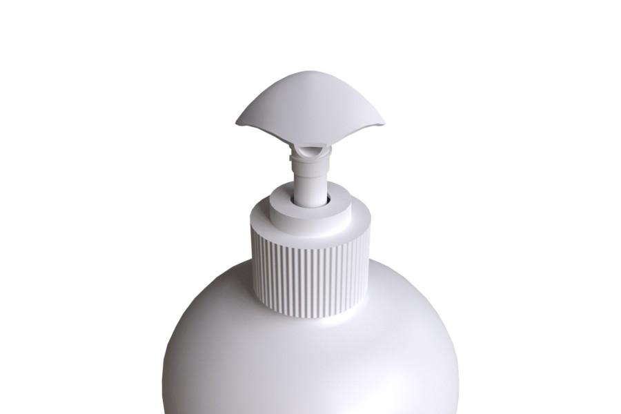 Pullo Pumppu SCREW 28/410 Yläasento edestä