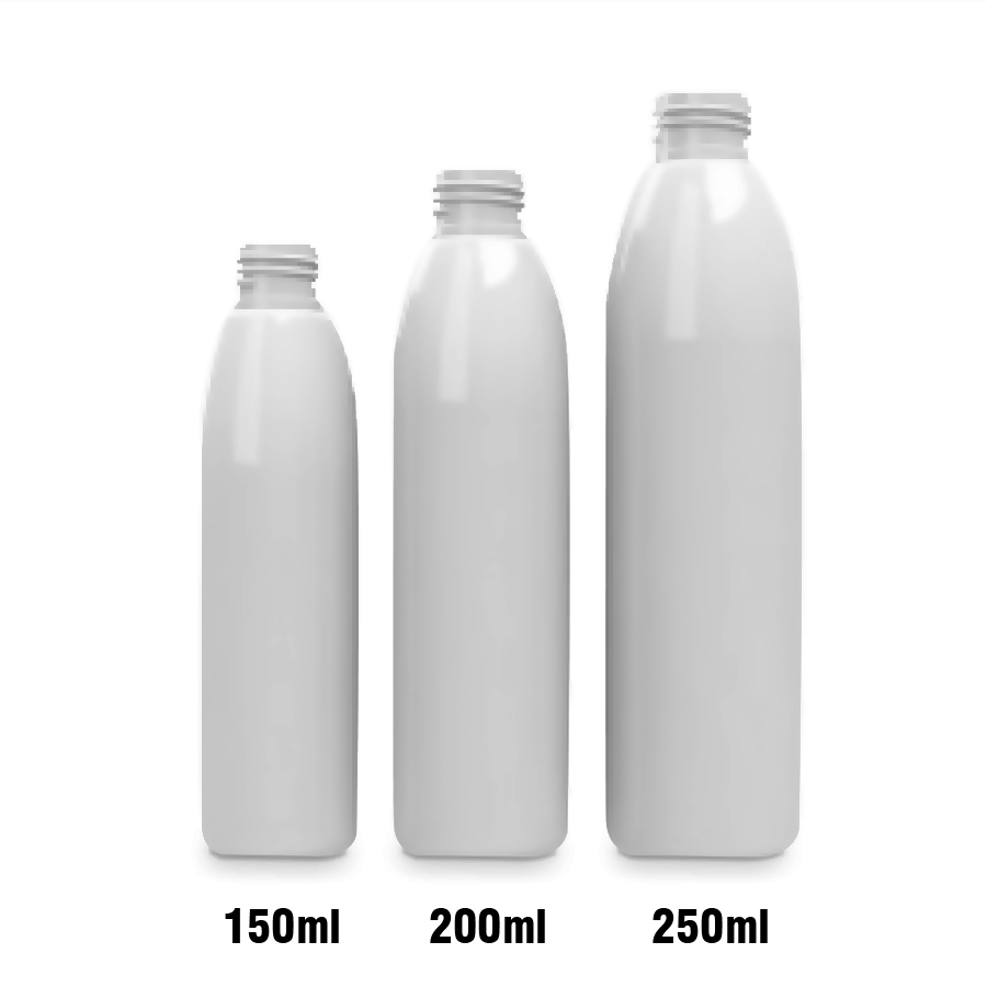 BULLET HDPE Muovipull 150ml 200ml 250ml 24/410