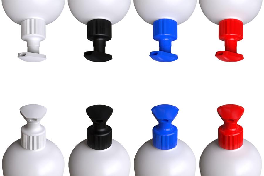 Värilliset saippuapumput