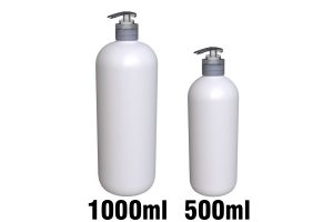 STORK 28/410 lotion pump on 500ml & 1000ml bottle