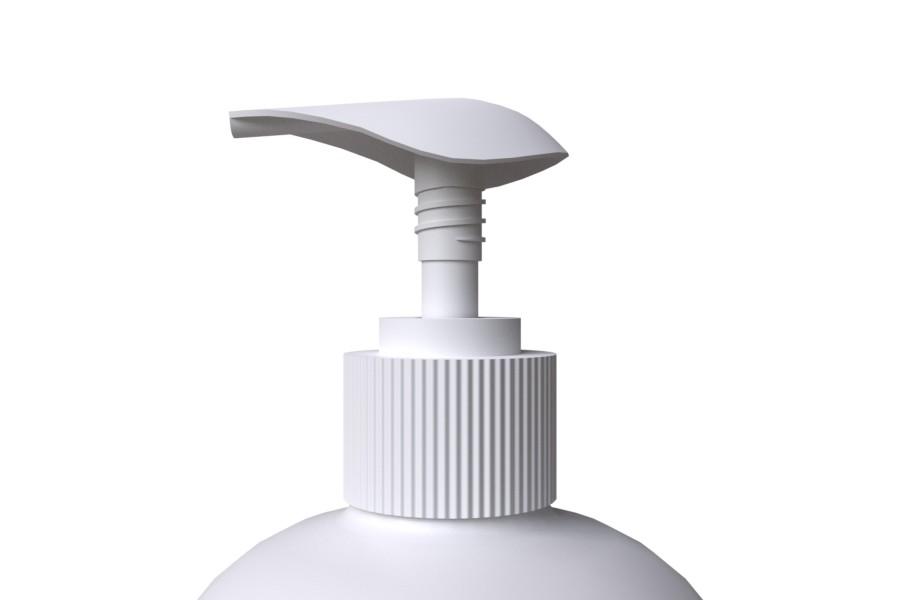 Pullo Pumppu SCREW 28/410 Yläasento sivuprofiili