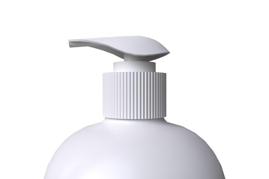Pullonpumppu matala SCREW 28/410 valkoinen