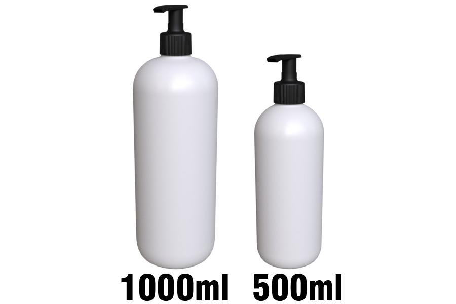SLIM pullon pumppu 28/410 1000ml ja 500ml pulloillla