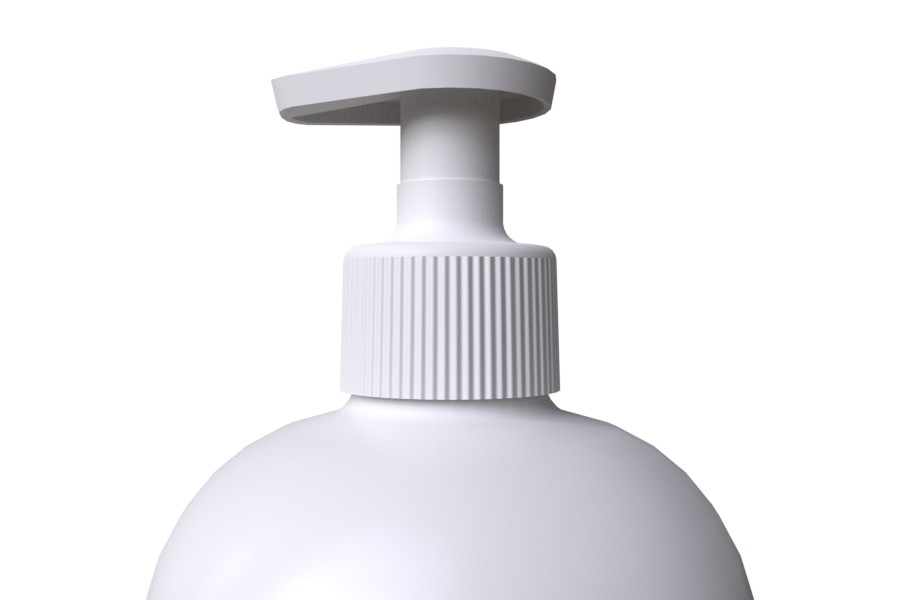 Bottle 1000ml with White Lotion Pump STANDARD