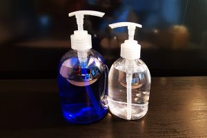 PET bottles with STORK Lotion Pumps 28/410