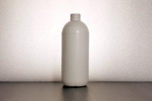 bottles, HDPE, 500ml, white, black, stock, ready to ship, pallet, box