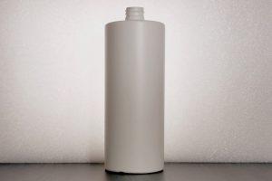 Straight shoulder, 100 ml, HDPE, bottle, 28/410 DIN, fast production, deliverry